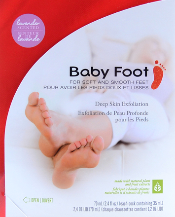 Baby Foot Exfoliating Boots