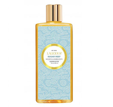 LALICIOUS Sugar Reef Shower Oil and Bubble Bath