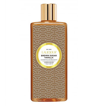 LALICIOUS Brown Sugar Vanilla Shower Oil and Bubble Bath