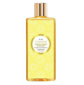 LALICIOUS Lemon Blossom Shower Oil and Bubble Bath
