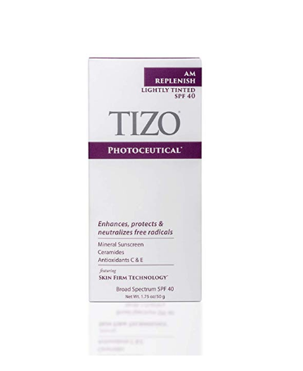 Tizo Photoceutical AM Replenish Tinted SPF 40 Sunscreen