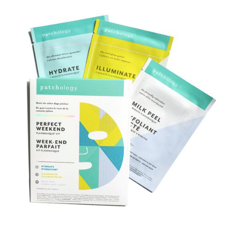 Patchology Perfect Weekend Trio Sheet Masks