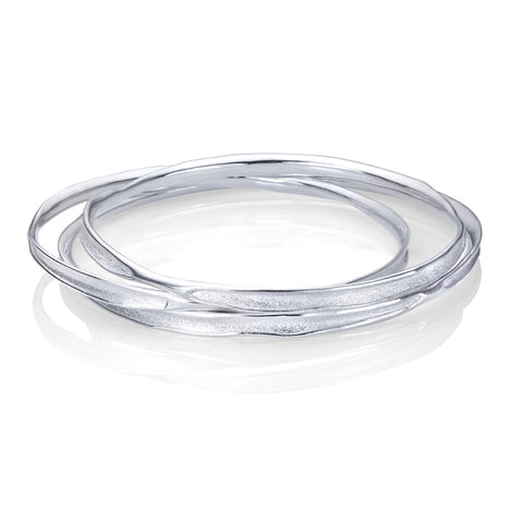 Fluid Nature Bangle Bracelet