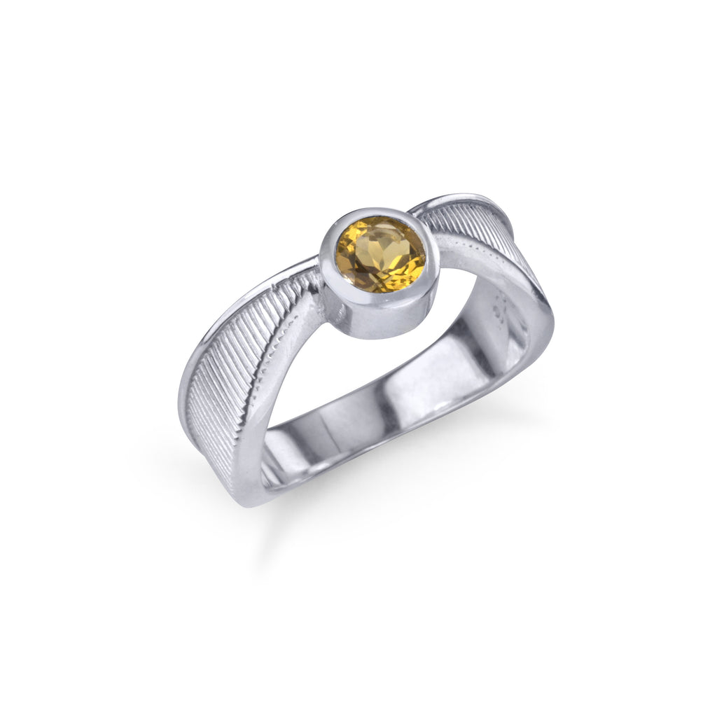 Golden Snitch Ring - Silver
