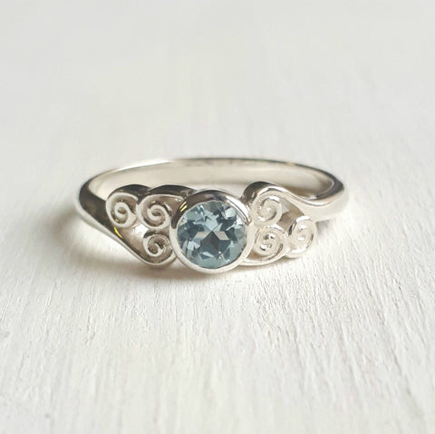 Avatar Air Tribe Ring - Blue Topaz