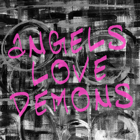 Angels Love Demons Marla Poster Art