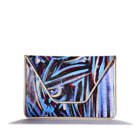 """Sapphire"" Oversized Clutch"