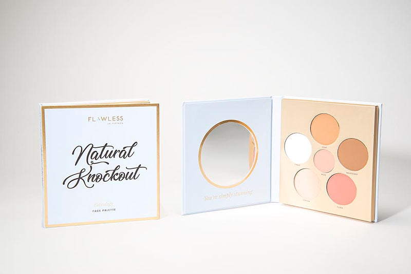 Natural Knockout Faceology Face Palette