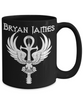 Bryan James Coffee Mug (Black)