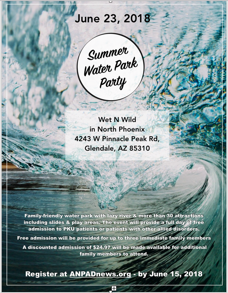 Water Park Event - June 23, 2018 Sponsored by Horizon