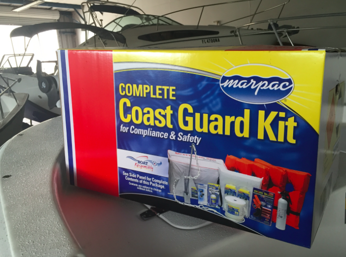 "Coast Guard ""Mid Range Deluxe Boater"" Safety Kit"