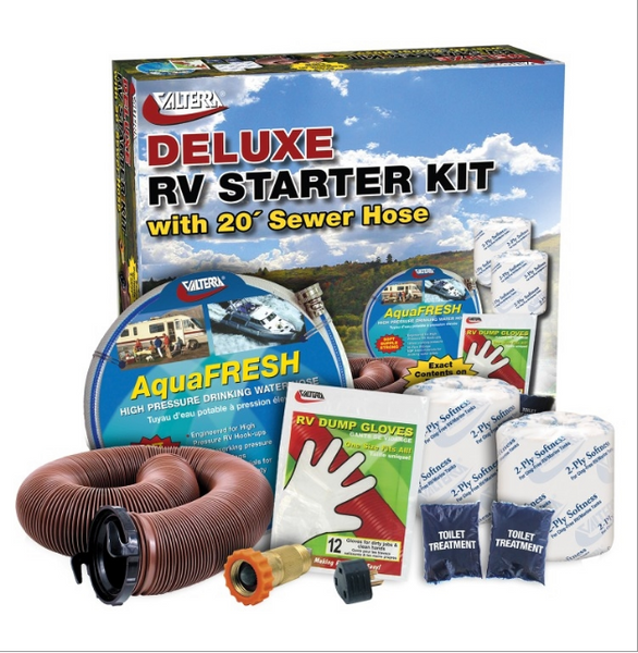 RV Accessory Deluxe Starter Kit with Pure Power