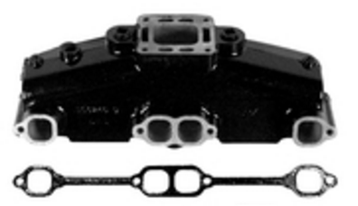 Mercruiser Ceramic Coated Exhaust Manifold and Riser Replacement Kit