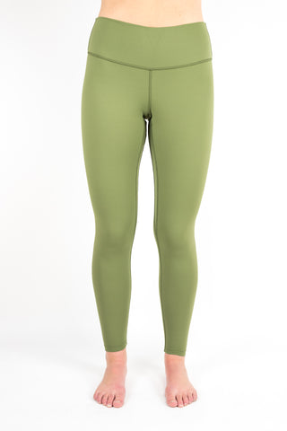 Signature Comfort Legging in Olive Green