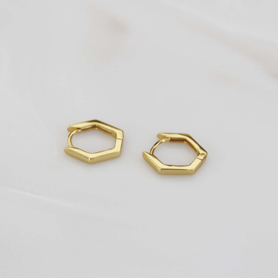 MINI HEXAGON HOOPS