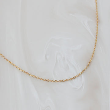 DAINTY WHISPER CHAIN NECKLACE