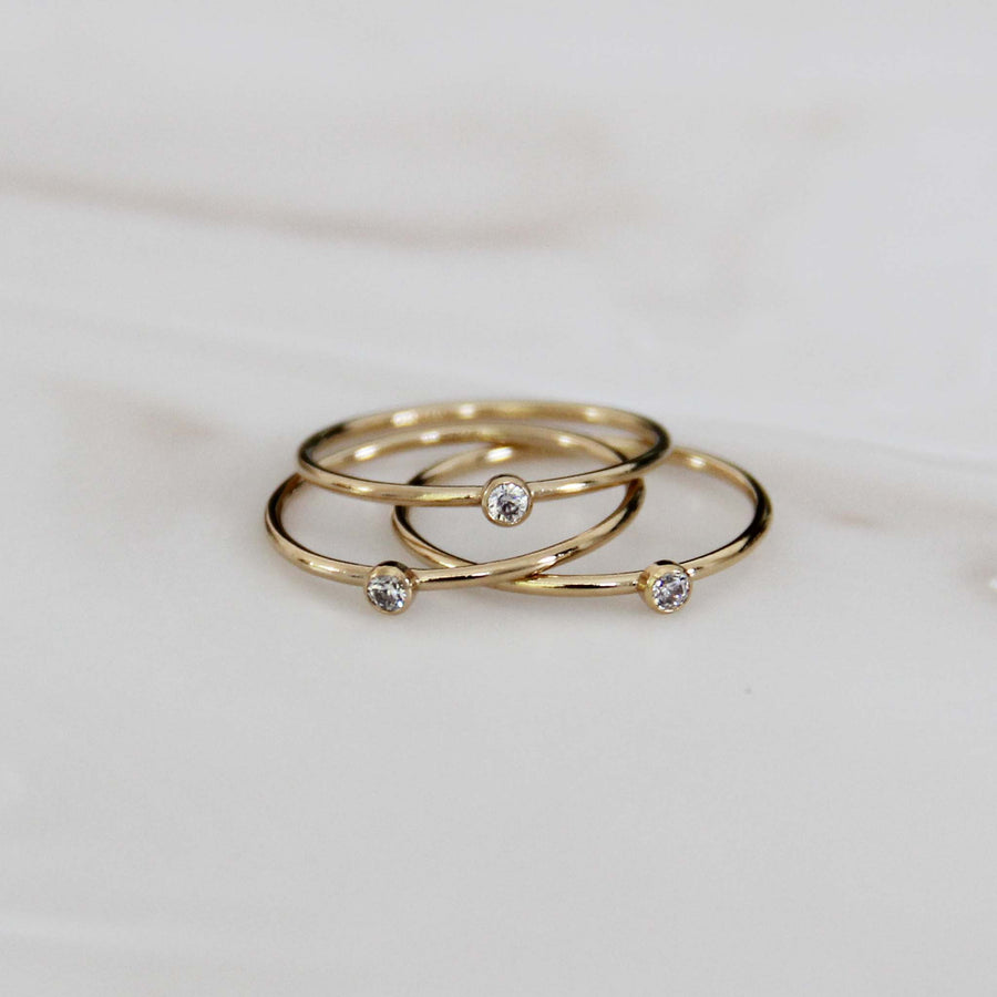 CLASSIC SINGLE STONE RING