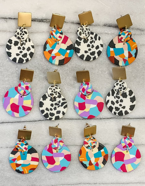 Barnett Multicolor Earrings