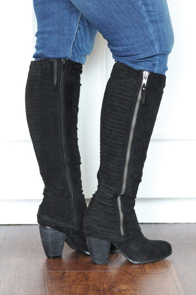 Very Strippy Boots