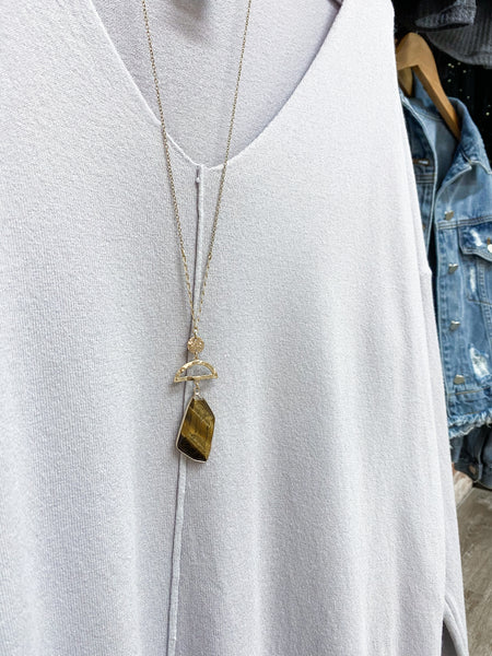 Amber Love Necklace