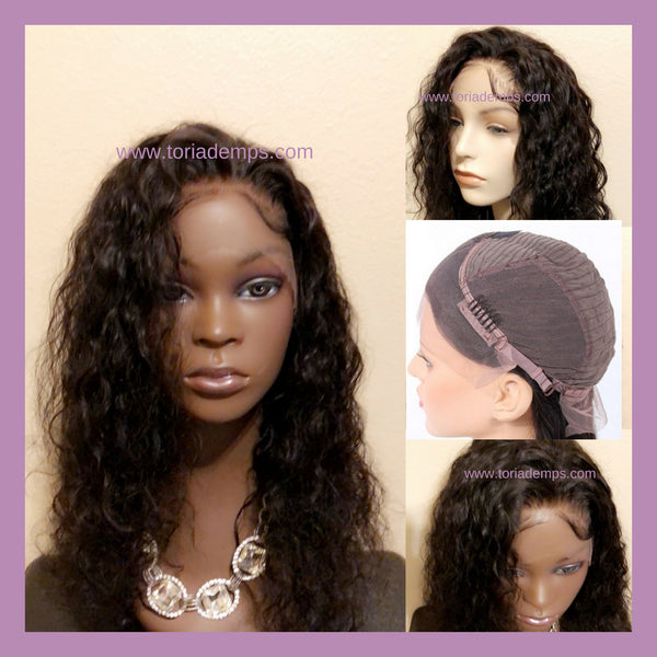 "LACE FRONT WIG (16"")"