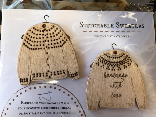 Stitchable Sweaters by Katrinkles