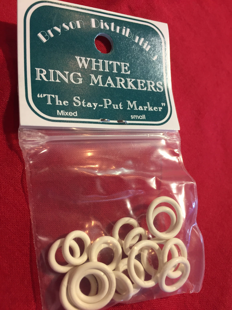White Large Ring Markers