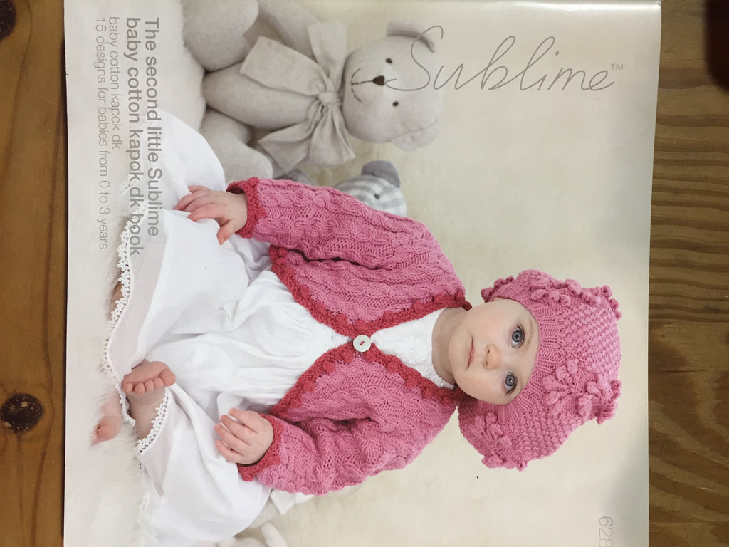 The second little Sublime baby cotton kapok dk book by Sublime