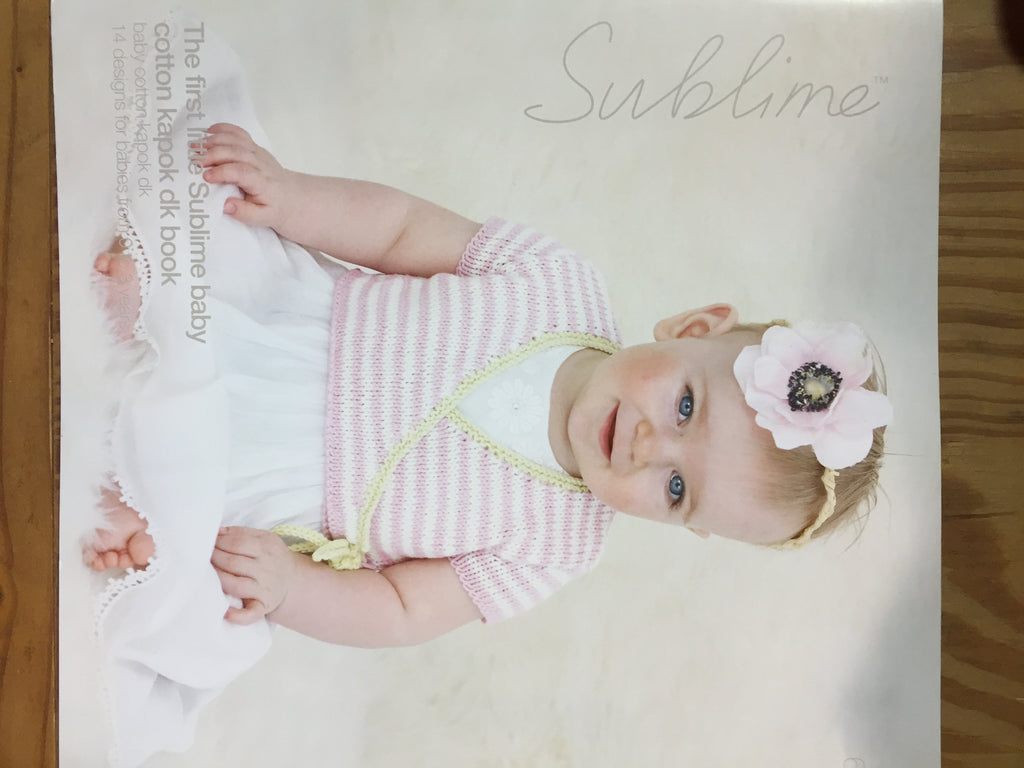 The first little Sublime baby cotton kapok dk book by Sublime