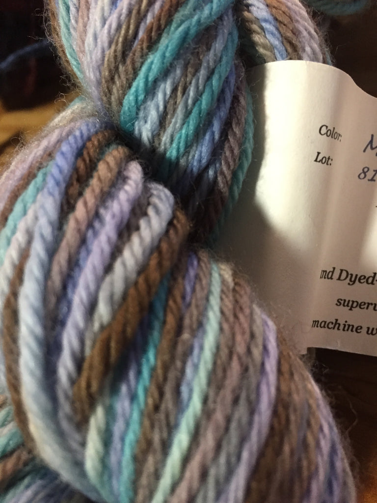 Claudia's Hand Paints Worsted MountainxSky