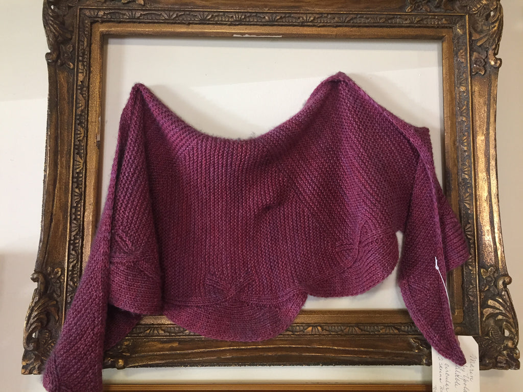 Pashmina Scalloped Shawl