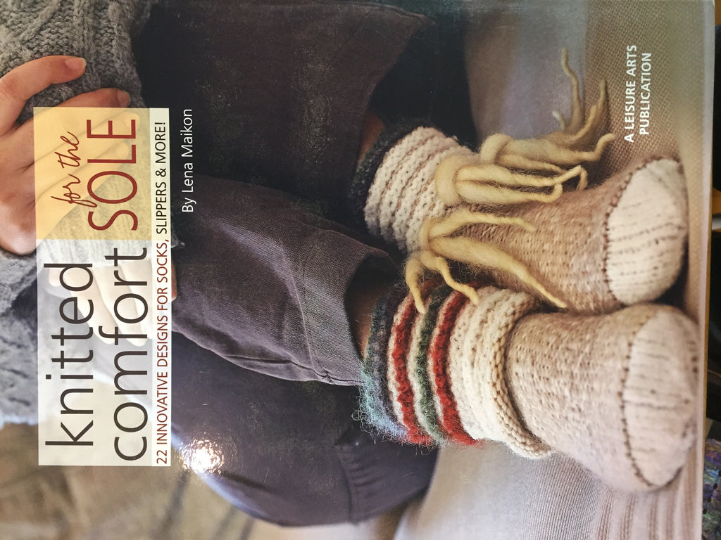 Knitted Comfort for the Sole by Lena Maikon