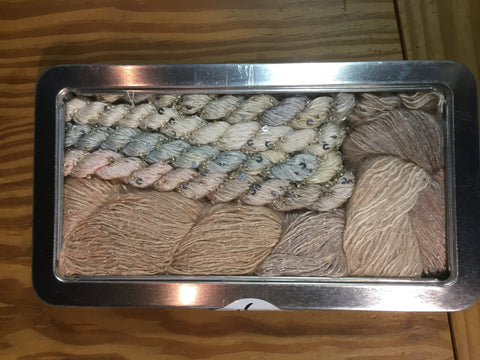ArtYarns Shawl for All Seasons kit - Champagne