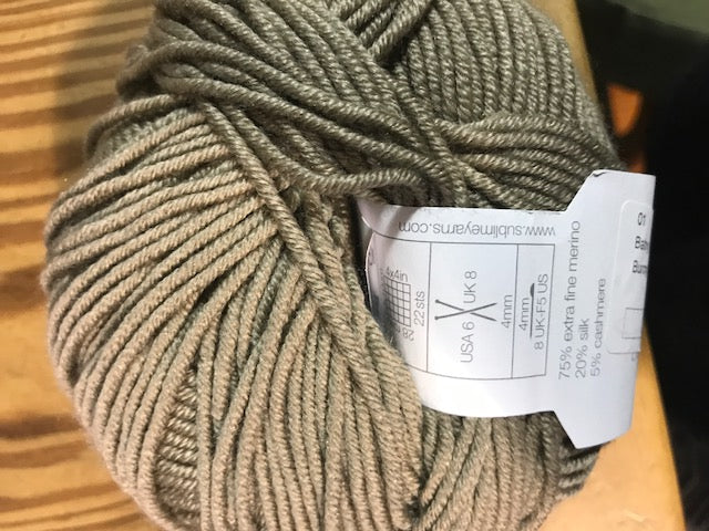 Sublime - Baby Cashmere Merino Silk DK - Bunny