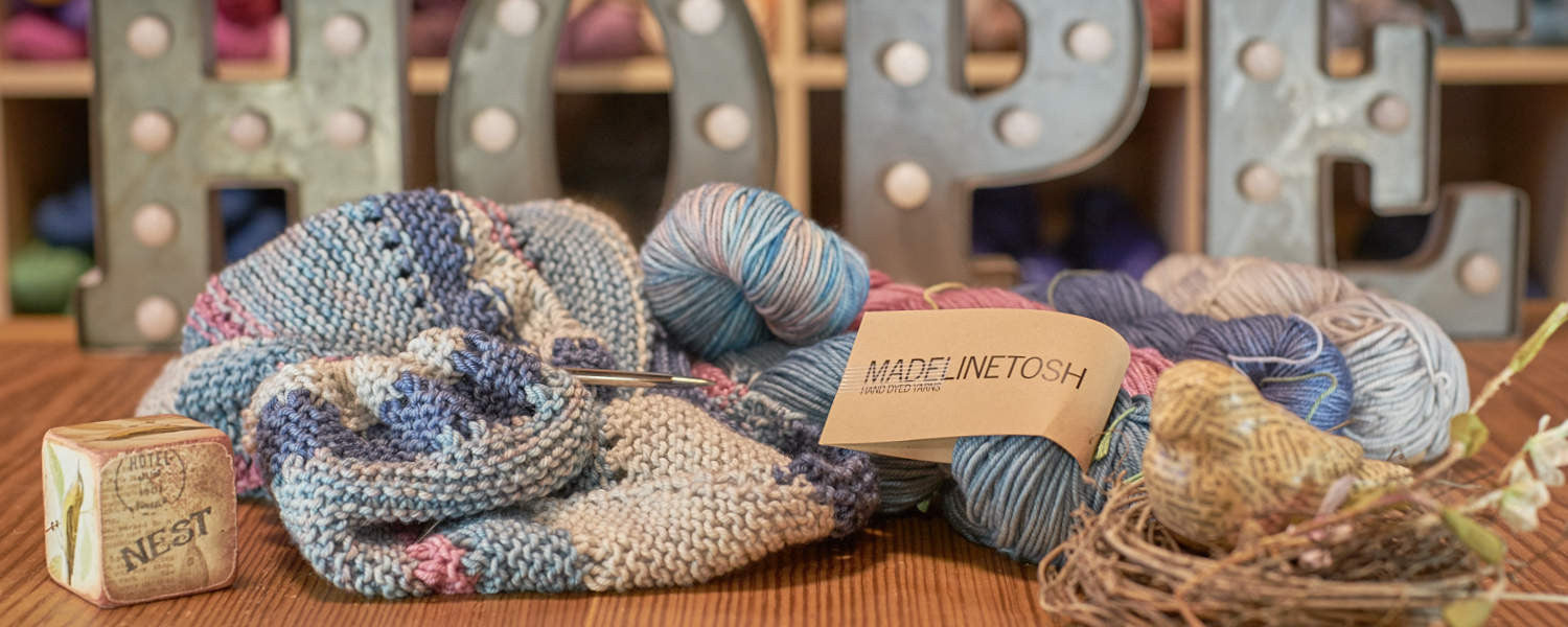 MadelineTosh yarn and projects at The Nest