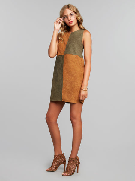 Athena Shift Mini Dress