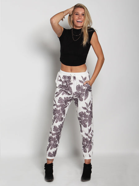 Hera Floral Sequined Jagger Trouser
