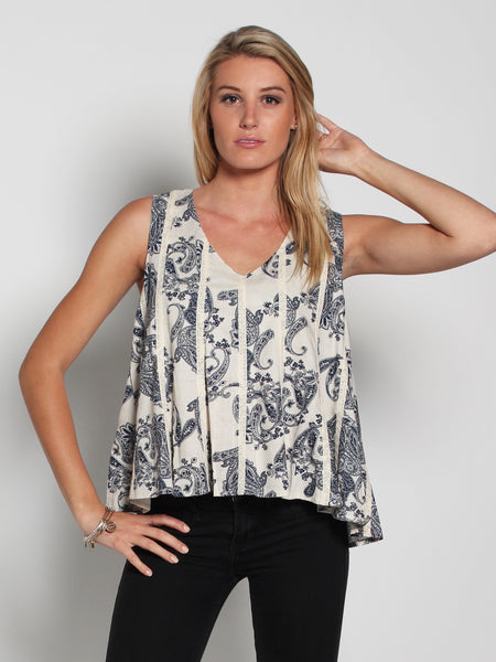 Flower Fling Knot Cami Top