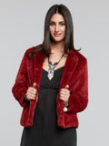 Dragoness Faux Fur Jacket