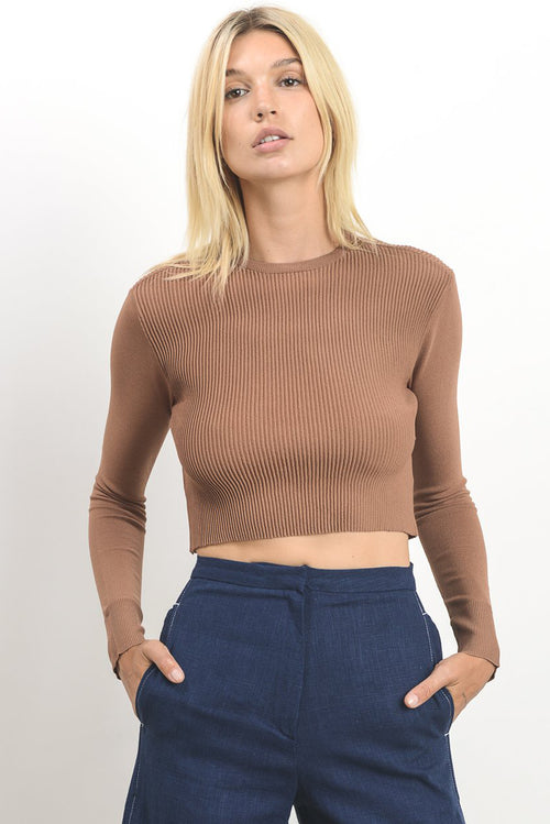 Vinca Cropped Sweater