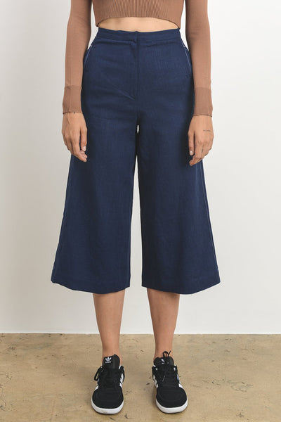 Nola Wide Cropped Trouser