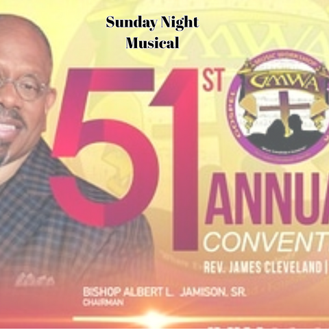 CD GMWA Sunday Night Musical