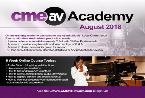 CMEav Academy Access Pass ... Members Only!