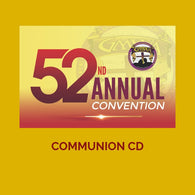CD COMMUNION & CONSECRATION GMWA 2019