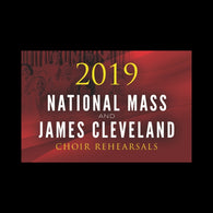 DIGITAL CARD National Mass and James Cleveland Choir Rehearsals