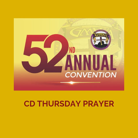 CD THURSDAY INTERCESSORY PRAYER GMWA 2019