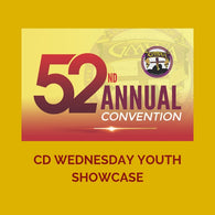 CD WEDNESDAY YOUTH SHOWCASE GMWA 2019