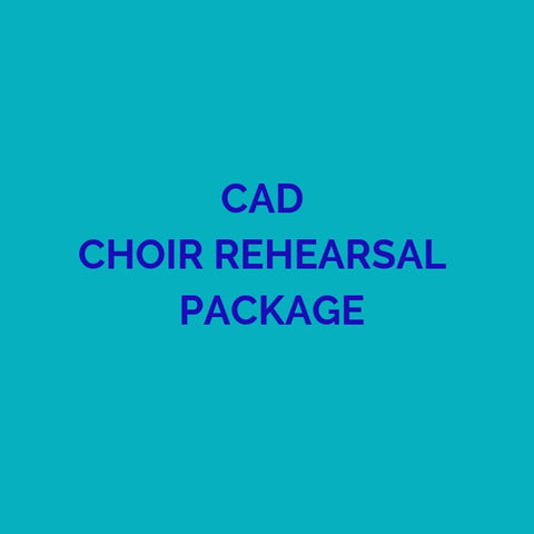 CD PACKAGE CAD REHEARSALS 2019 GMWA
