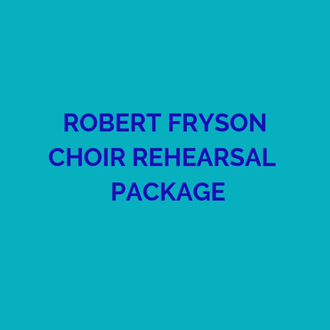 CD PACKAGE ROBERT FRYSON REHEARSALS 2019 GMWA