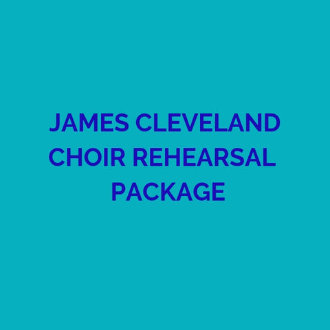 CD PACKAGE JAMES CLEVELAND REHEARSALS 2019 GMWA